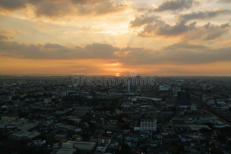 Sunrise always a new beginning stock images