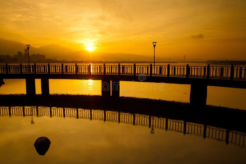 Download Sunrise with nice sky stock image. Image of taipei, ocean - 19795135