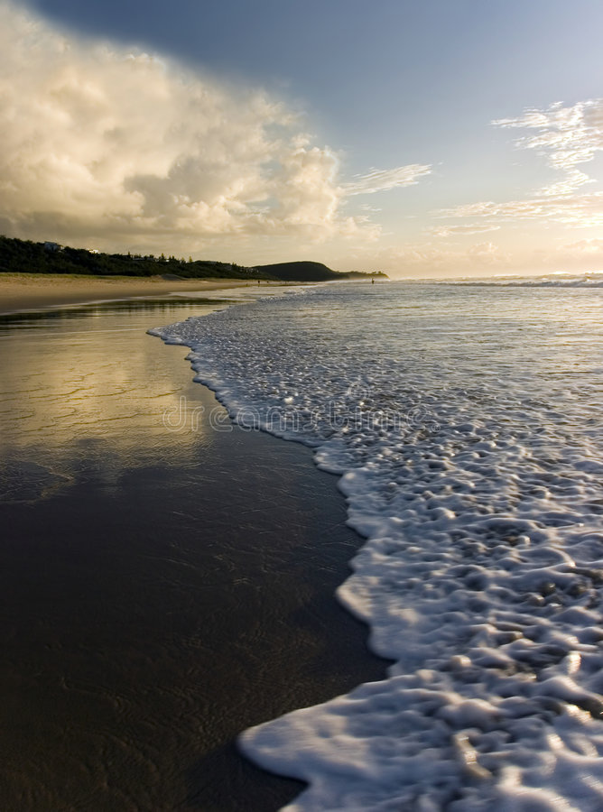 Sunrise @ Noosa Beach. Shot with 300D and Sigma 12-24mm stock photos