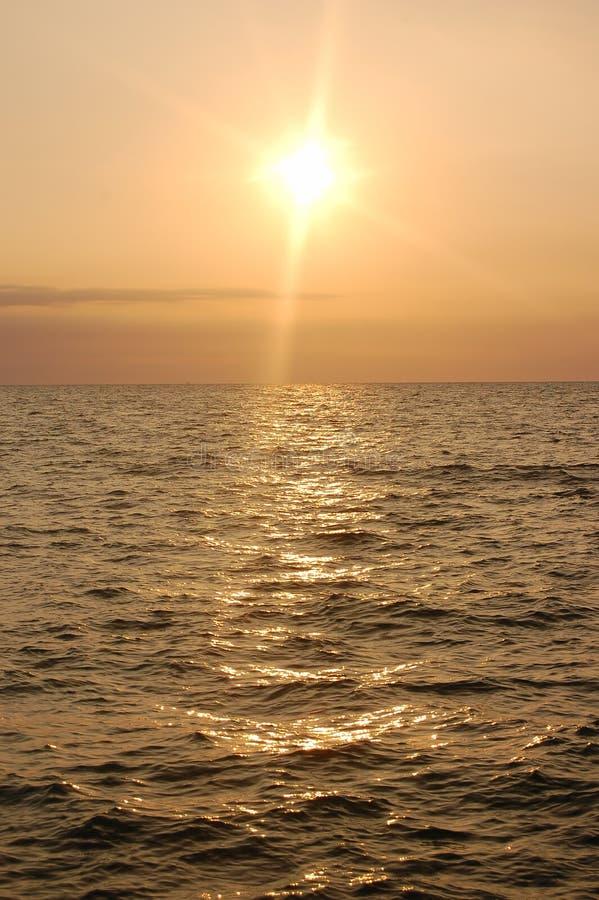 Sunrise ocean royalty free stock image