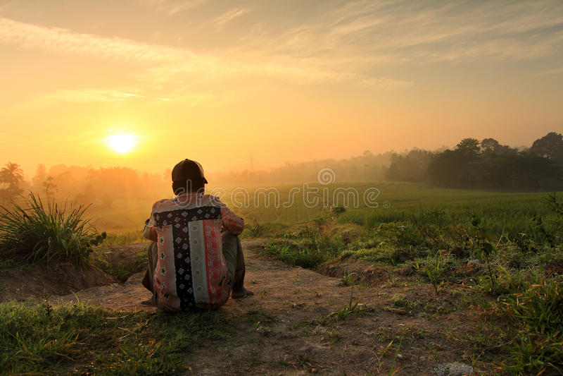 Sunrise stock photography