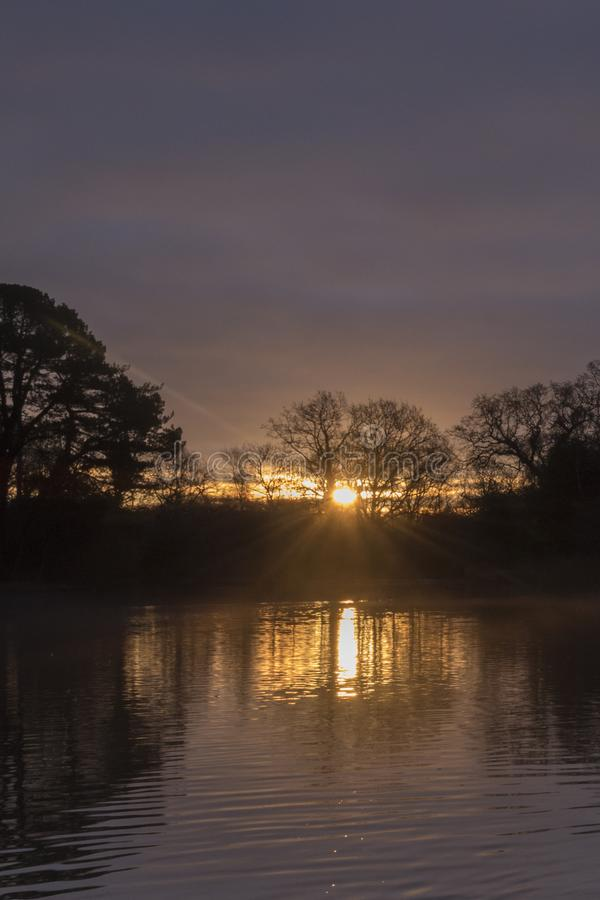 Download Sunrise At The Ornamental Pond, Southampton Common Stock Image - Image of slightly, common: 108716071
