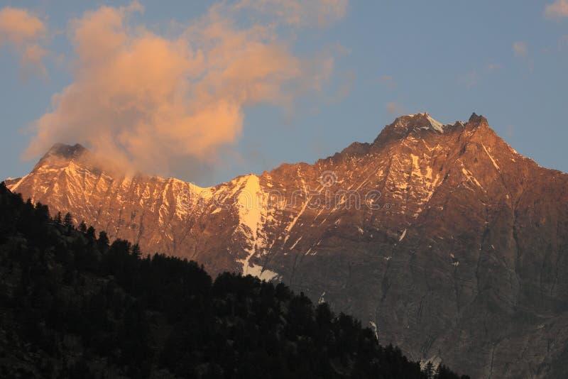 Download Sunrise Over Alpine Peaks Stock Images - Image: 22365634