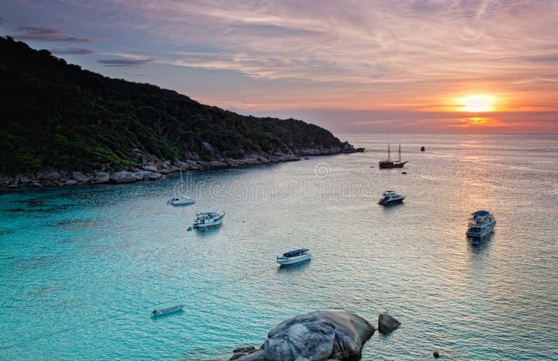Download Sunrise Over The Andaman Sea Stock Photo - Image: 29621870
