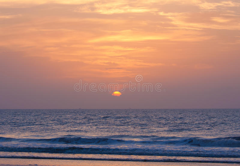 Download Sunrise Over Atlantic Ocean Stock Photos - Image: 16091013