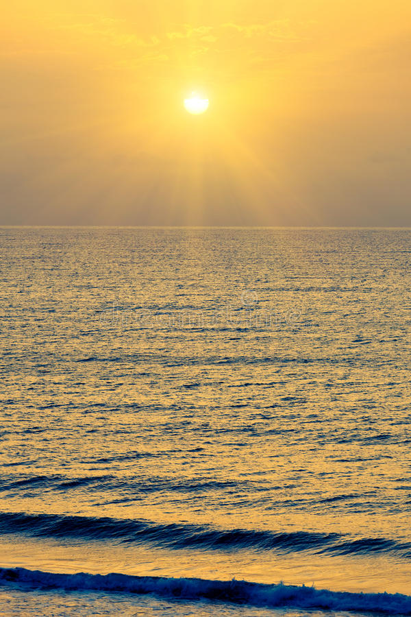 Download Sunrise Over Atlantic Ocean Stock Image - Image: 22796491