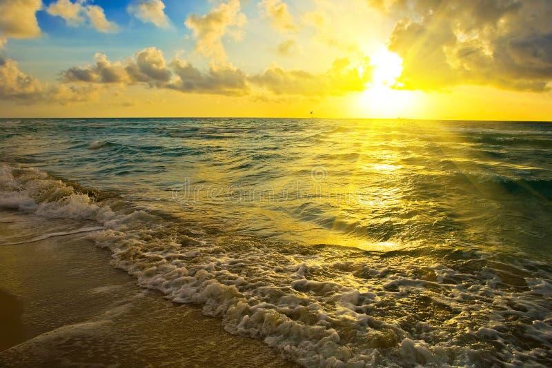 Download Sunrise Over Atlantic Ocean Coast Stock Photo - Image: 11016906