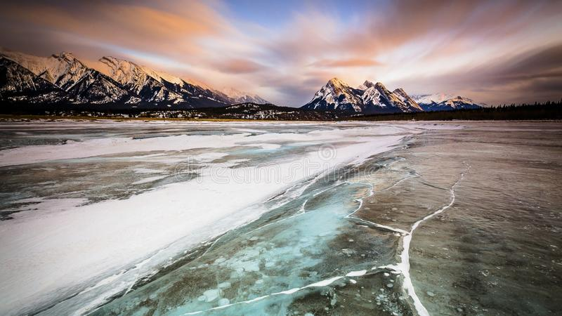 Sunrise over Canadian Rockies