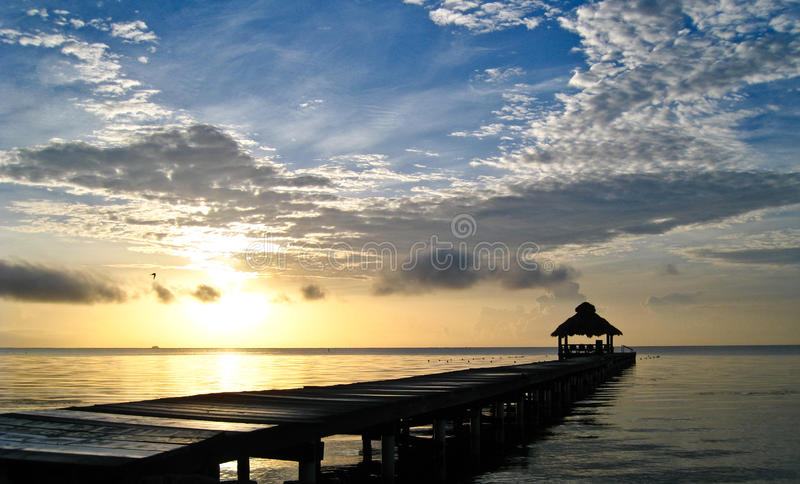 Download Sunrise over the Caribbean stock image. Image of island - 9797145