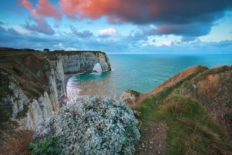 Download Sunrise Over Cliffs In Atlantic Ocean Stock Photo - Image: 36492362