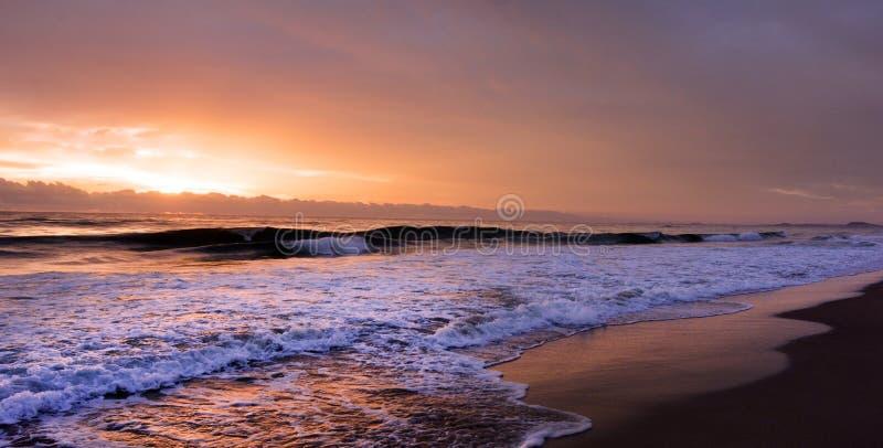 Sunrise over Gold Coast Queensland Australia royalty free stock photo