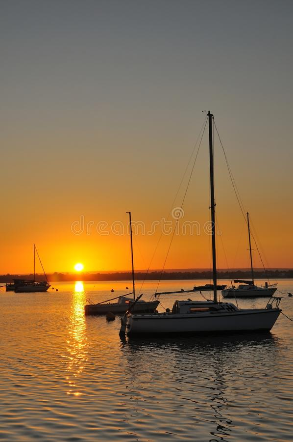 Download Sunrise Over Harbor Stock Photos - Image: 20897993