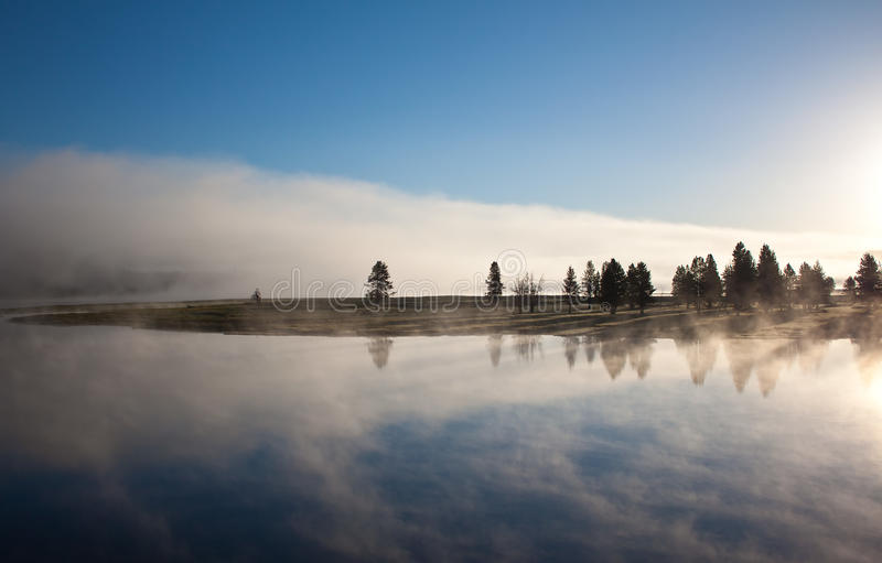 Download Sunrise Over The Hayden Valley Stock Photo - Image of beautiful, morning: 20064720