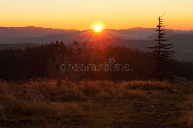 Download Sunrise Over the Horizon stock photo. Image of landscape - 23537338