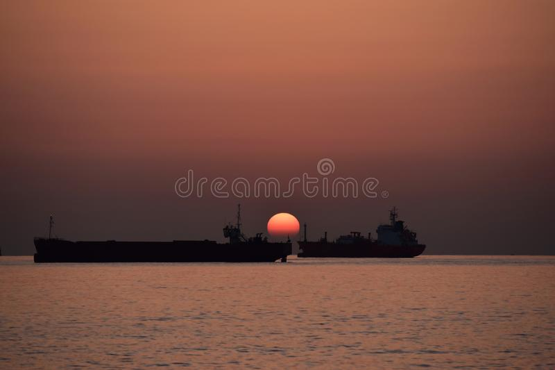 Sunrise stock image