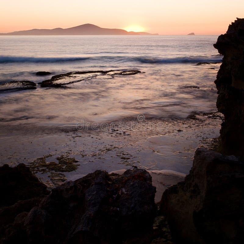 Download Sunrise over the Ocean stock image. Image of orange, nanarup - 17645823