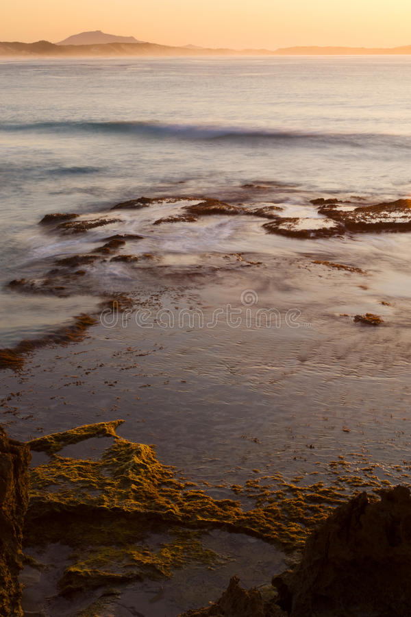 Download Sunrise over the Ocean stock photo. Image of coast, summer - 17645844
