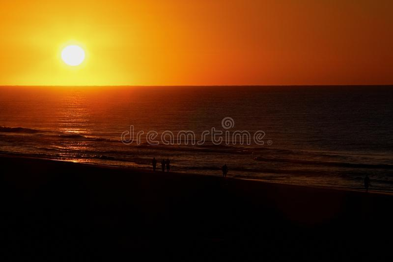Download Sunrise Over The Ocean Stock Photos - Image: 18014133