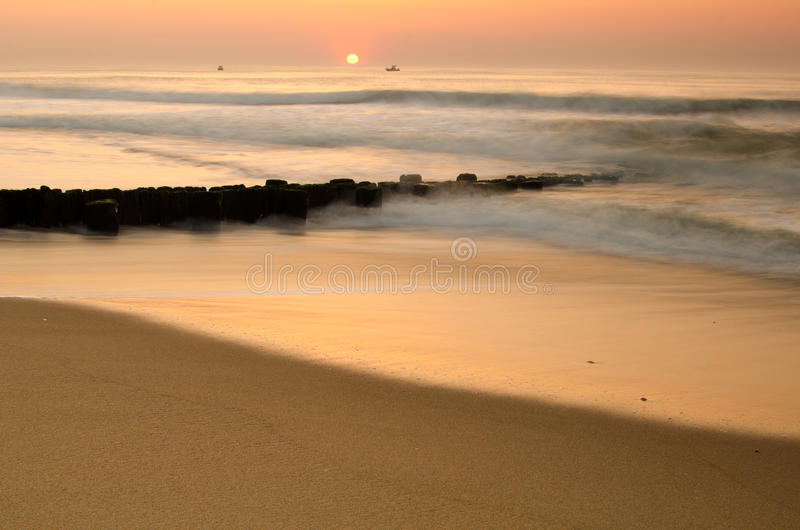 Download Sunrise over ocean stock image. Image of nature, dusk - 20403375