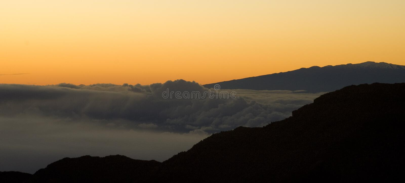 Download Sunrise over Volcano stock photo. Image of sight, black - 13102188