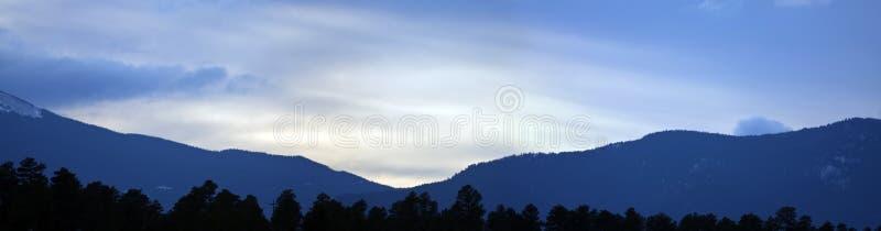 Sunrise Panorama Stock Image