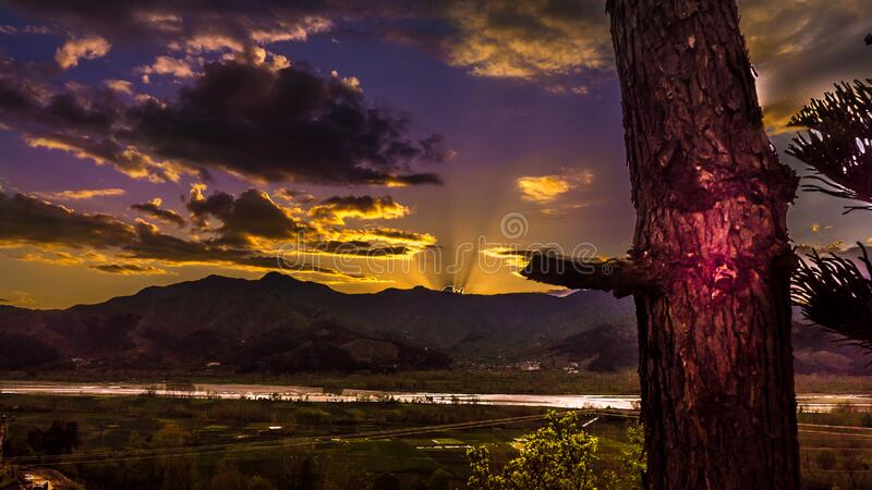 Sunrise Photo royalty free stock photos