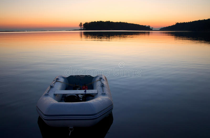 Download Sunrise, Reef Passage, Tumbo Island Stock Photo - Image: 21152202