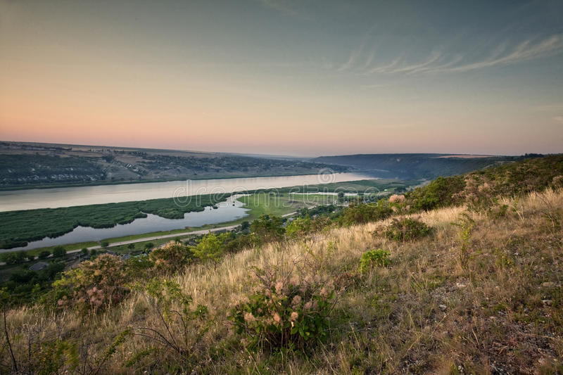Download Sunrise on river stock image. Image of bright, plain - 29972665