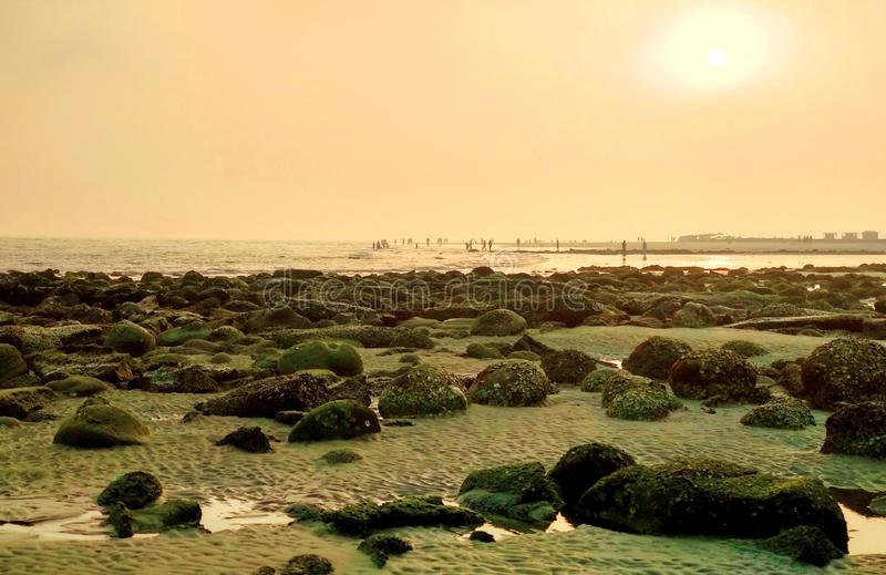 Sunrise On Saint Martin's Sea Beach Free Public Domain Cc0 Image