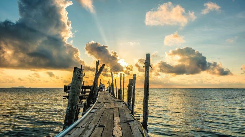Sunrise on Samed island royalty free stock images