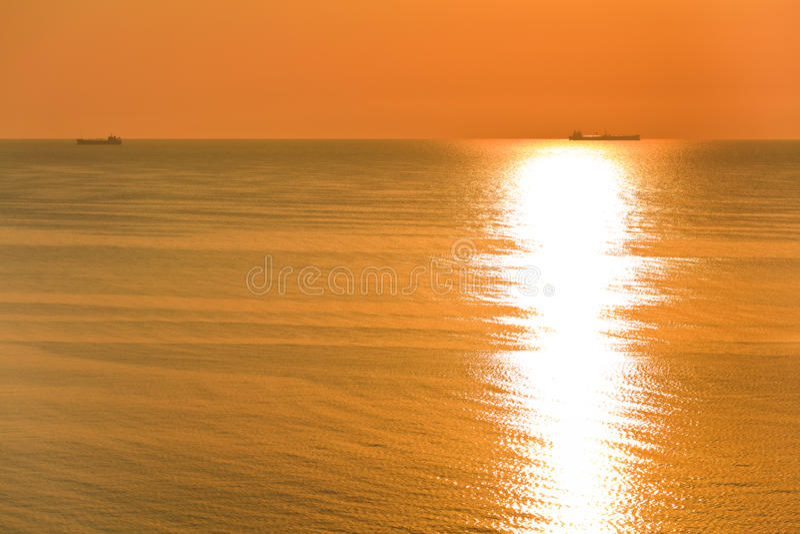 Download Sunrise At Sea Stock Photo - Image: 24382410