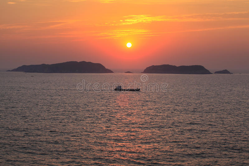 Download Sunrise Of The Sea. Stock Images - Image: 27674184