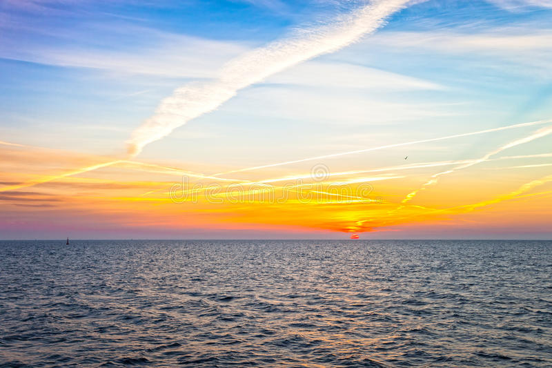 Download Sunrise at sea stock photo. Image of romantic, outdoor - 33969196