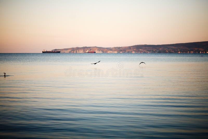 Download Sunrise on the sea stock image. Image of sunrise, travel - 32333817