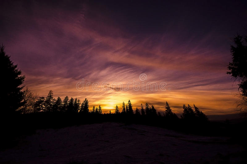 Sunrise stock images