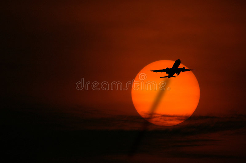 Download Sunrise, Singapore stock image. Image of flying, asia, skyline - 126207