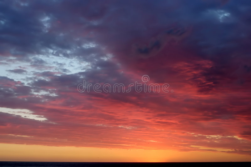 Sunrise sky royalty free stock photos