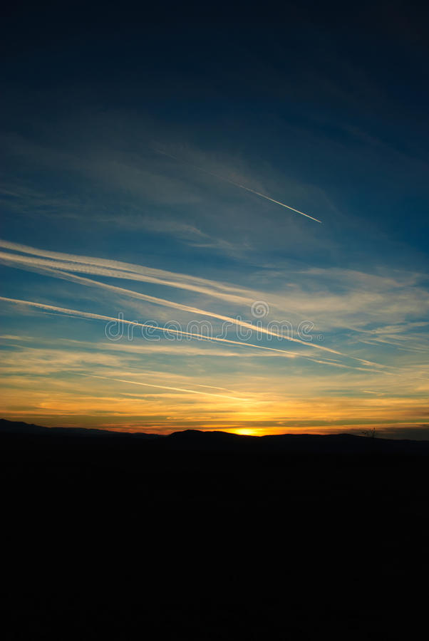 Download Sunrise sky. stock photo. Image of outdoor, contrast - 32431030