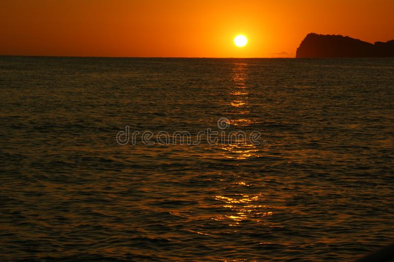 Download Sunrise South Pacific Ocean Stock Image - Image of fishing, south: 8233245