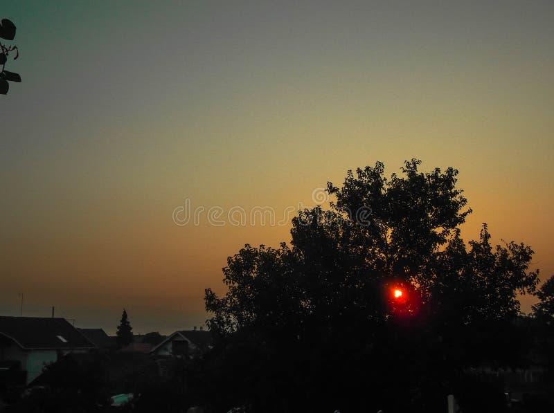 Sunrise. Summer 2017 royalty free stock image