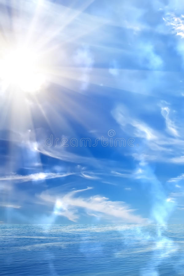 Download Sunrise  sun  sky  sea stock image. Image of depth, climate - 15121201