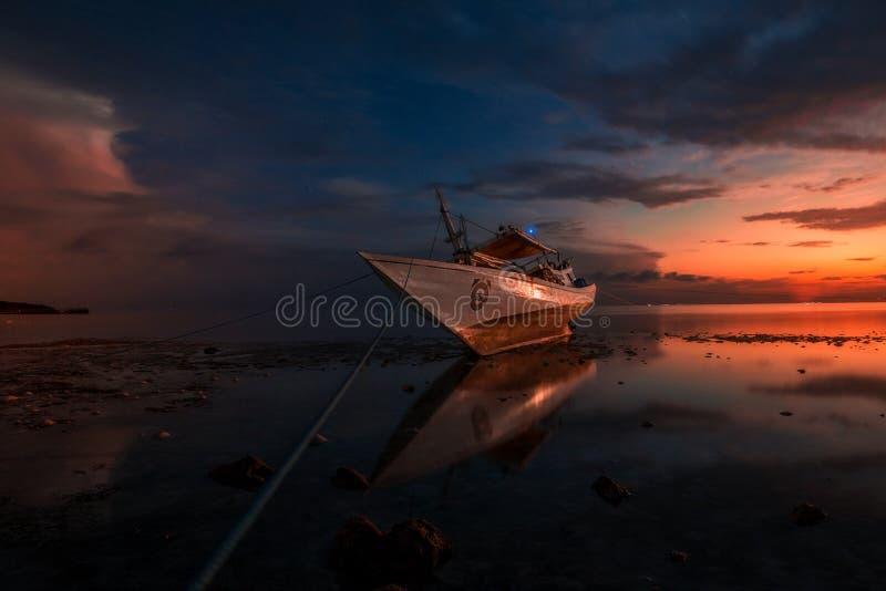 sunrise at Tanjung Bira Bulukumba royalty free stock photos