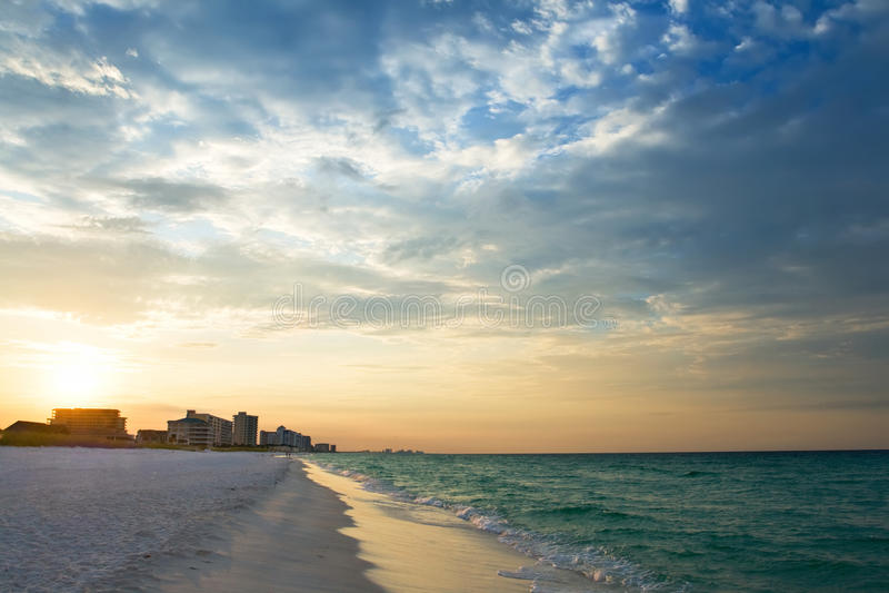 Download Sunrise Under Atlantic Ocean Coast Stock Image - Image: 10399511
