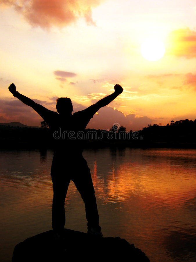 Download Sunrise of Victory stock image. Image of success, achievement - 8495007