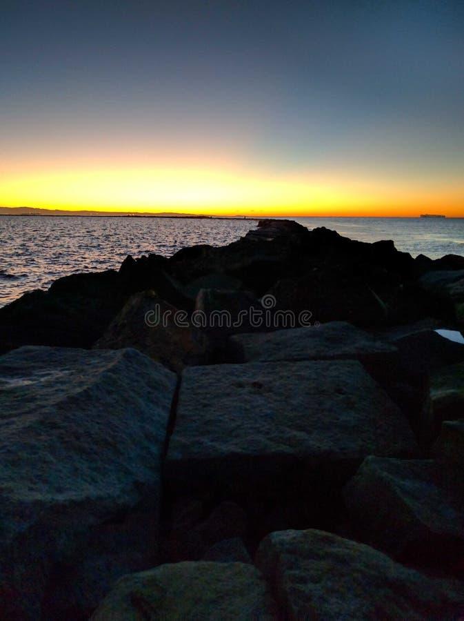 Sunrise view royalty free stock photo