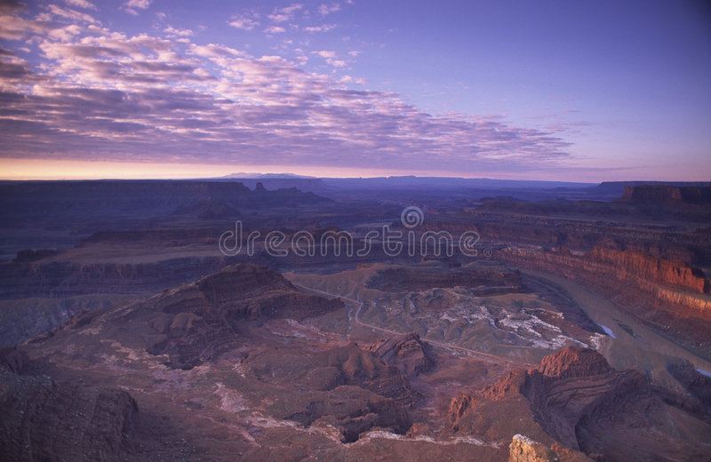 Sunrise View Of Canyonlands National Park In Utah Royalty Free Stock Image