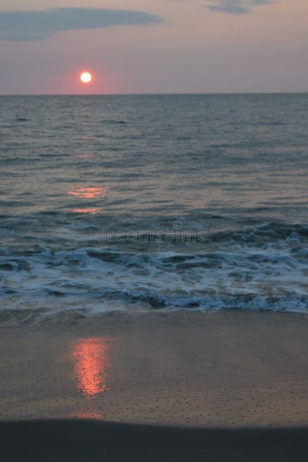 Sunrise in Virginia stock photo