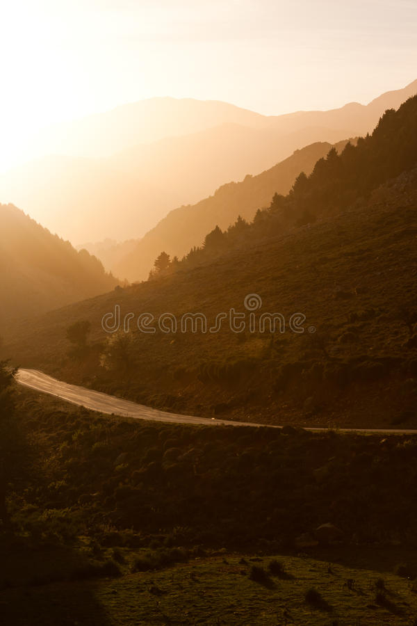 Download Sunrise In The White Mountains Stock Image - Image: 14692955