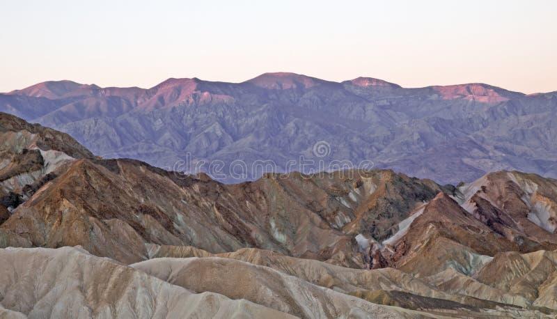 Download Sunrise at zabriskie point stock image. Image of sunrise - 20648535