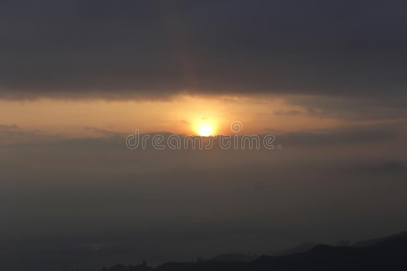 sunrises imagem de stock royalty free